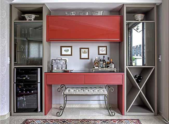 vern - Arquitetas dão dicas de como usar o vermelho na decoração