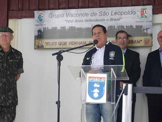 16° GAC AP mourao 623x468 - Vice-presidente Hamilton Mourão esteve no 16° GAC AP