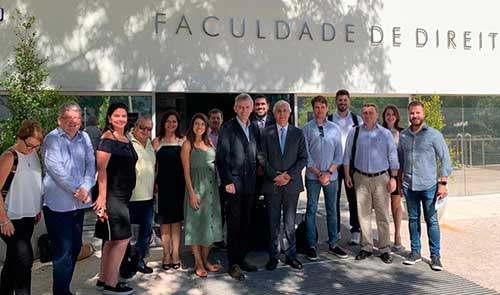 2019 Intercambio Portugal 1 - UNISINOS: Estudantes de Direito participam de Intercâmbio para Portugal