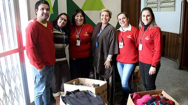 ArrecadadosMacroMix abre - Esteio: Macromix entrega doações para a Campanha do Agasalho