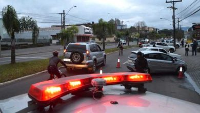 Balada Segura Santa Maria 390x220 - Balada Segura abordou 91 condutores em Santa Maria
