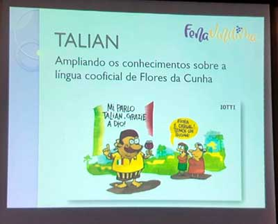 Embaixatrizes da FenaVindima 1 - Embaixatrizes da FenaVindima participaram de aula de Talian
