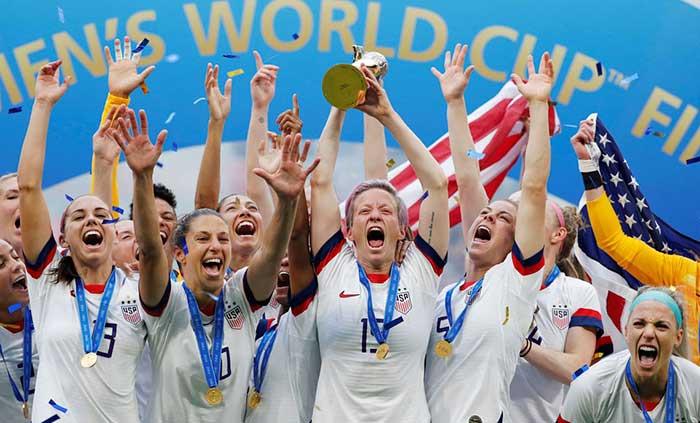 Equipe de futebol feminino EUA - Norte-americanas são bicampeãs do mundo de futebol feminino
