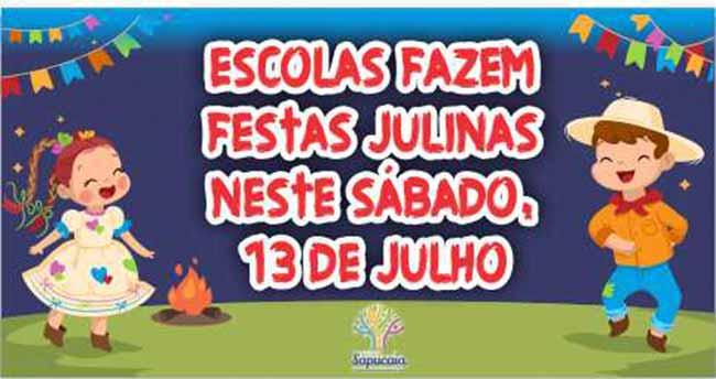 Escolas festas Juninas site 2 - Escolas de Sapucaia do Sul fazem festas julinas neste sábado