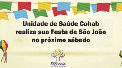 Festa São João site 390x220 - Sapucaia do Sul terá Festa de São João na UBS Cohab Casas