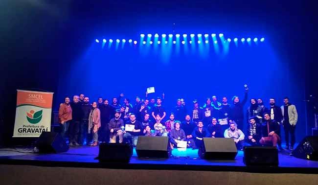 Festival de músicagravatai - 2º Festival de Música de Gravataí homenageou o Dia Mundial do Rock