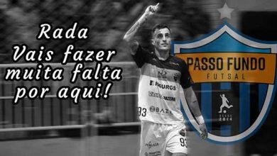 Futsal falecimento Pablo Radaeli 390x220 - Passo Fundo decreta luto oficial