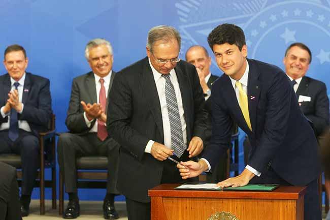 Gustavo Montezano - Gustavo Montezano assume a presidência do BNDES