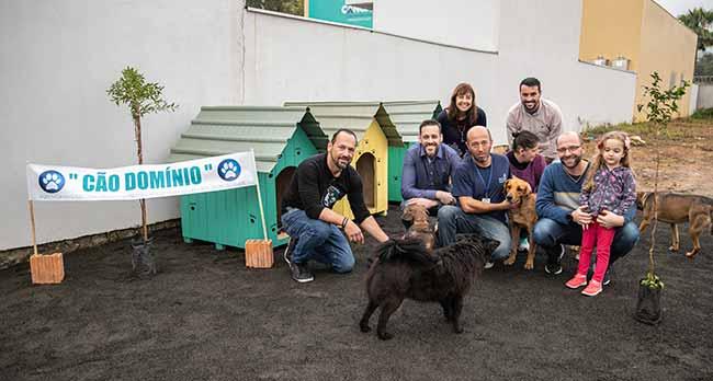Inaugurado Cãodomínio para atender cães comunitários 1 - Canoas inaugura Cão Domínio para atender cães comunitários