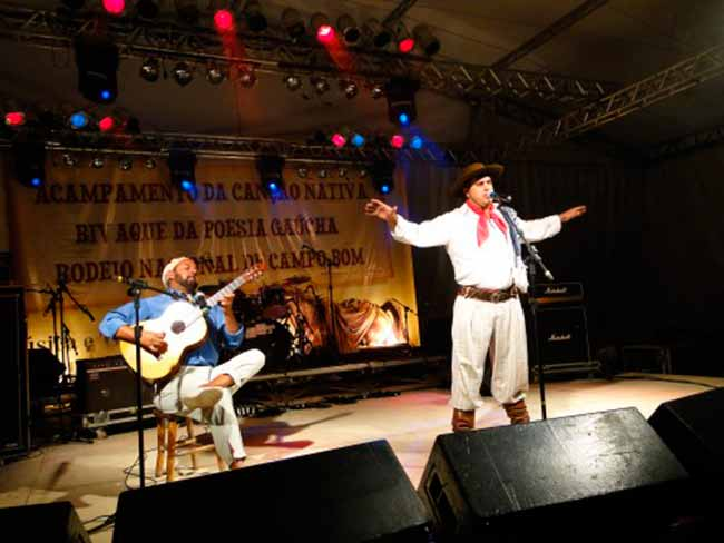 Inscrições abertas para o 17° Bivaque de Poesia Gaúcha - Campo Bom abre inscrições para o 17° Bivaque de Poesia Gaúcha