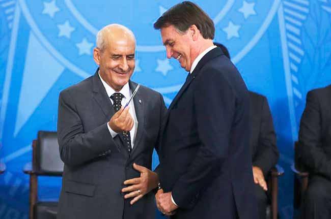 Luiz Eduardo Ramos - Bolsonaro empossa o ministro da Secretaria de Governo