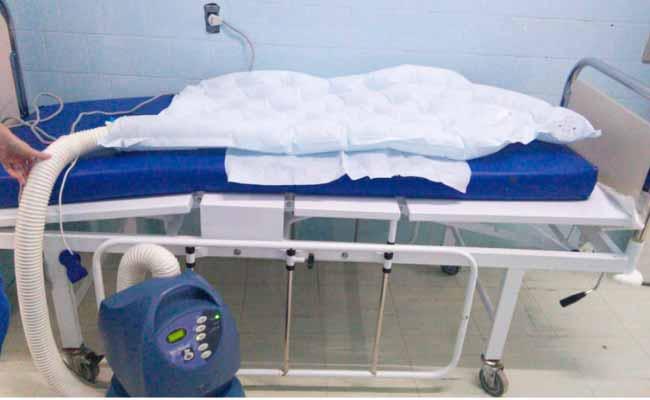 MantaTérmica - Com doação de Redecker, FSNH adquire equipamentos hospitalares