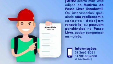 Mutirão do Passe Livre Estudanti 390x220 - Santo Antônio da Patrulha realiza Mutirão do Passe Livre Estudantil dias 16 e 30