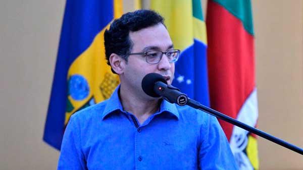 O secretário Allan John Lino - Inicia processo de escolha do Conselho Municipal de Política Cultural de Gramado