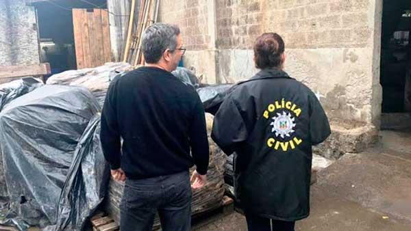 Operação Ambiente Sustentável Portão - Denúncia anônima resulta em prisões por crime ambiental em Portão