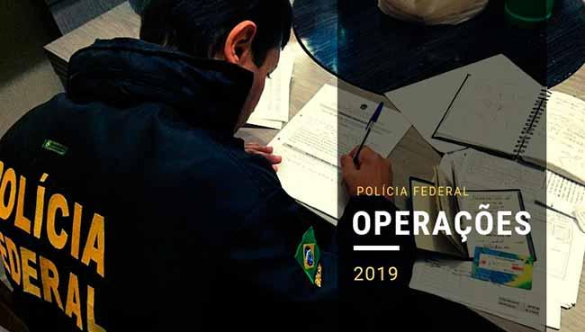PF Operação - Polícia Federal realizou Operação Apagão em Santa Catarina