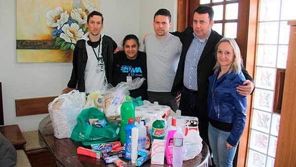 Prefeitura de Lajeado entrega kits de higiene 2 - Prefeitura de Lajeado entrega kits de higiene a entidades
