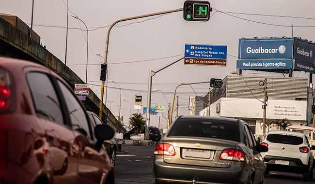 Semáforos com contagem regressiva de Canoas Pablo Reis - Canoas terá cem novos semáforos com contadores regressivos