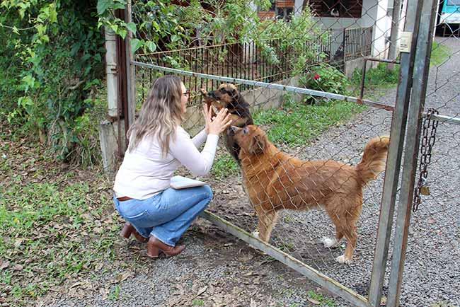 VisitasAdotantesCaesCanil 010 - Visita aos cães adotados do Canil Municipal de Esteio
