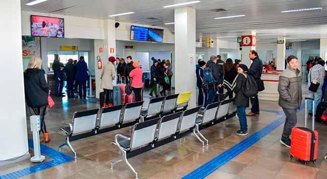 aeroporto caxias - Movimentação no Aeroporto de Caxias do Sul cresceu 25% neste semestre