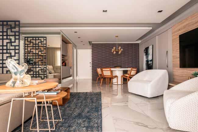 ap - Conceito de apartamento com ares de casa
