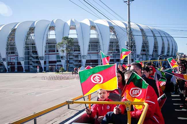 beira rio tour poa - Futebol Tour neste domingo em Porto Alegre
