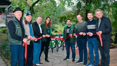biciparqald 390x220 - Nova Petrópolis inaugura ciclovia no Parque Aldeia do Imigrante