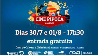 cine pipoca bairro Canudos 390x220 - Cine Pipoca nas férias no bairro Canudos em Novo Hamburgo
