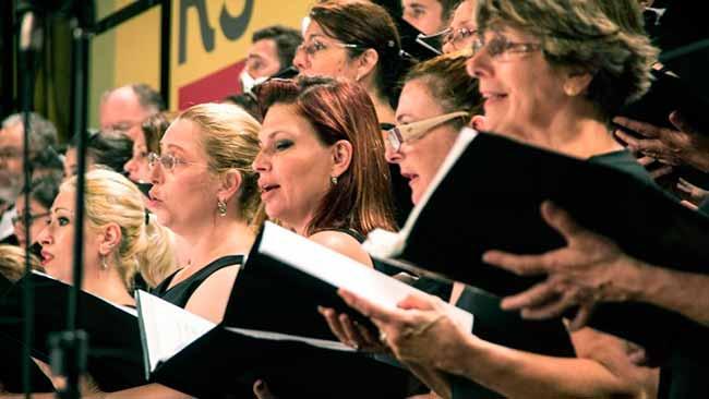 coro ospa - Coro Sinfônico da Ospa faz concerto neste domingo