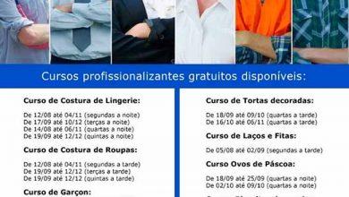 cpas parobe 390x220 - Parobé abre inscrições para 13 cursos profissionalizantes gratuitos