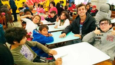 criançasparobe 390x220 - Crianças atendidas pelo SCFV de Parobé visitam shopping em Novo Hamburgo
