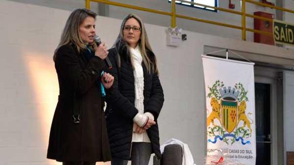 desafios em sala de aula Caxias do Sul 1 - Professores da rede municipal participam de formação em Caxias do Sul