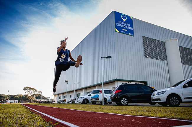 estaçãocidadania canoas - Canoas: academia gratuita aos atletas da Estação Cidadania