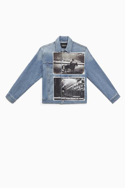 jaqueta color ckj masc andy warhol  de  r  790 00por  r  593 00 web  - Calvin Klein lança nova coleção inspirada em Andy Warhol