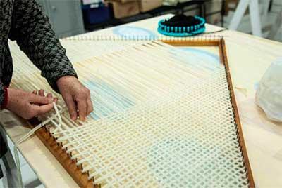lã pelotas rs mulheres 2 - Pelotas: Cursos para confecção em lã de ovelha atraiu mulheres