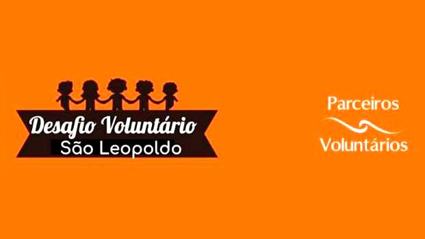 parceiros voluntarios programa semana do desafio voluntario 1 - Parceiros Voluntários promove a Semana do Desafio Voluntário em São Leopoldo
