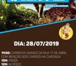 paroqcristorei 250x220 - Campo Bom promove 45ª Festa do Motorista e 1ª Festa dos Colonos