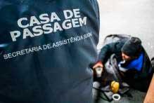 pelotas casa de passagem - Pelotas enfrenta o frio com calor humano