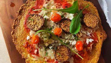 Photo of Receita de pizza low carb