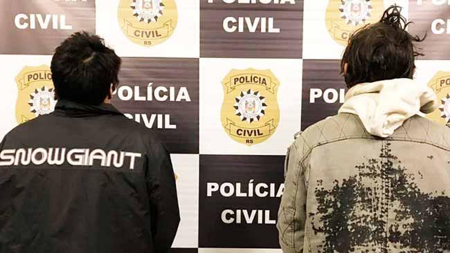 pol - Polícia prende dois homens por latrocínio em Caxias do Sul