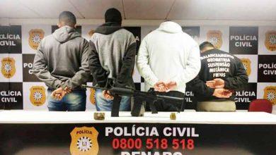 policviam 1 390x220 - Quatro presos por porte ilegal de arma e tráfico de drogas em Viamão