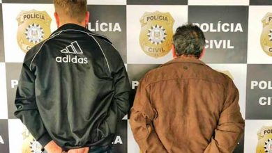 presos por suspeita de extorsão mediante sequestro 390x220 - Dois homens são presos por extorsão mediante sequestro em Santa Catarina