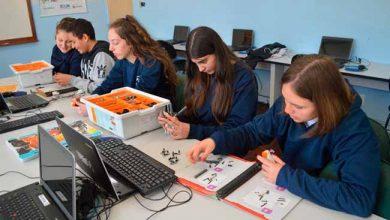 roboticaflorescunha 390x220 - Aula de Robótica nas escolas de Flores da Cunha