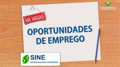 sine veranopolis 390x220 - Confira as vagas de emprego do Sine de Veranópolis