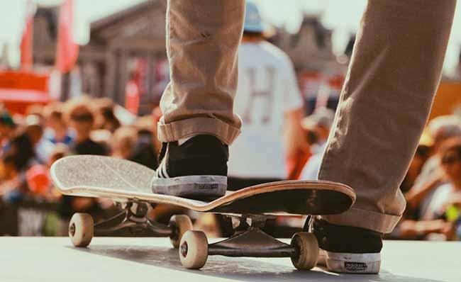 sk - Saiba evitar lesões ao andar de skate