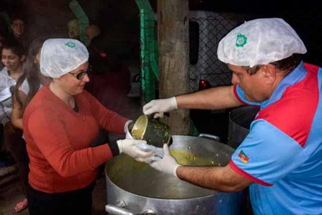 sopa campo bom - Campo Bom terá Sopa Solidária a partir do dia 16 de julho