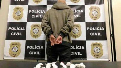 tráfico de drogas em Sapucaia do Sul 390x220 - Preso em flagrante por tráfico próximo de escola infantil em Sapucaia do Sul