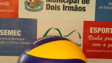 volei dois irmaos 390x220 - Sábado tem Campeonato Aberto de Voleibol Adulto de Dois Irmãos