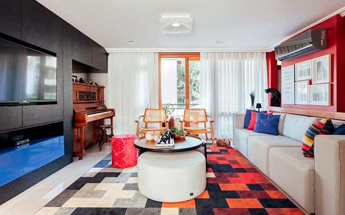 """Casa Ipanema - Escritório de Arquitetura Ambientta trabalha com conceito """"habite o que você é"""""""