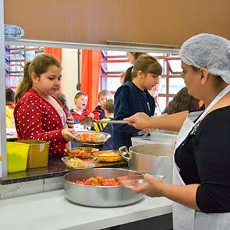 Caxias do Sul alimentação escolar 1 - Caxias do Sul já investiu mais de R$ 19 milhões em alimentação escolar